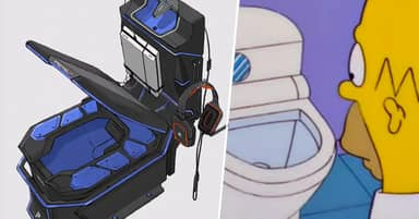 Man Designs Gaming Toilet, And It's A Glorious Vision Of The Future