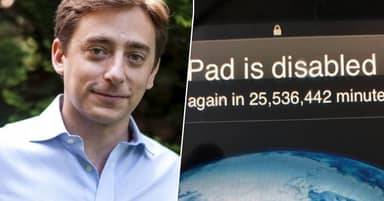 Dad Locked Out Of iPad For 25 Million Minutes After Son, 3, Tried To Guess Password