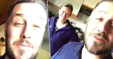 Guy Wakes Up In Wrong House After Party, Owner's Reaction Is Hilarious