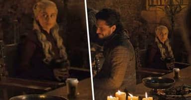 Behind The Scenes Pic Shows Whose Starbucks Cup Was Left On Game Of Thrones Set