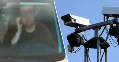 Driver Gets Ticket For 'Scratching His Face'