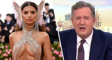 Piers Morgan Body Shames Emily Ratajkowski's Belly Button With Sexist Remarks