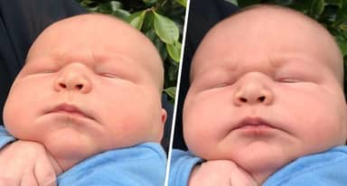 Mum Gives Birth To Giant 13lb Baby Dubbed Hercules