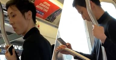 Police Search For Subway Passenger 'Caught Rubbing Genitals On Sleeping Girl'