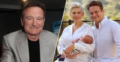 Robin Williams' Son Zak Names Newborn Son After His Dad