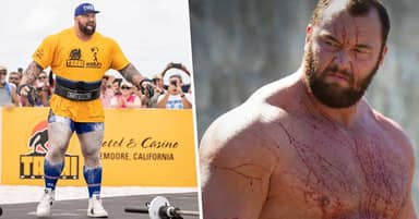 The Mountain Loses World's Strongest Man Title To The Dragon