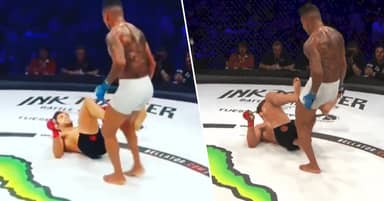 MMA Fighter Penalised For Sticking Big Toe Up Opponent's Bum