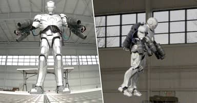 Real Iron Man Suit That Flies Built By Former MythBuster Adam Savage