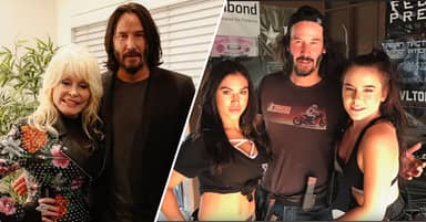 Fans Think These Photographs Are Proof Keanu Reeves Is The Most Respectful Man In Hollywood