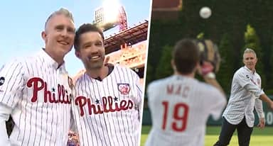Mac From It's Always Sunny Finally Got His Catch With Chase Utley