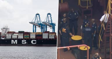 16.5 Tonnes Of Cocaine Seized From Cargo Ship In Philadelphia
