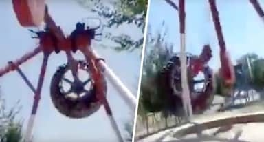 Theme Park Ride Snaps In Two Mid-Air Killing 19-Year-Old Girl