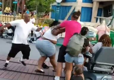 Three Adults Filmed In Disneyland Fight Hit With Criminal Charges