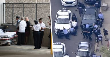 Gunman Who Shot Six Cops And Held Two Officers Hostage In Philadelphia Home Surrenders