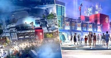 Disneyland Unveil 'First Look' At Marvel Land Avengers Campus