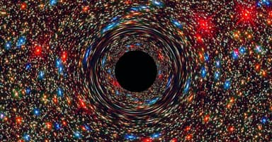 Our Galaxy's Black Hole Suddenly Lit Up And Scientists Don't Know Why