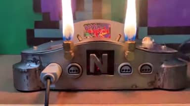 This Metal N64 Breathes Fire, And It's Ridiculously Awesome