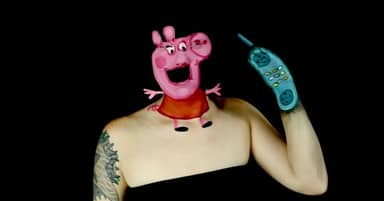 Peppa Pig Make-Up Tutorial Will Absolutely Terrify You