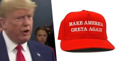 Donald Trump Trolled By 'Make America Greta Again' Hats Being Made Available