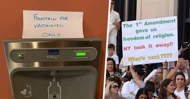 Unvaccinated Children Are Barred From School In New York And Anti-Vaxxers Are Mad
