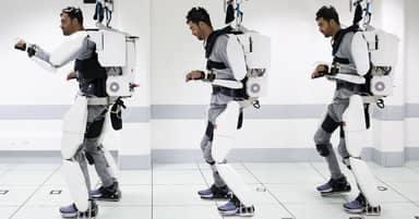Paralysed Man Able To Walk Again Thanks To Robot Exoskeleton Controlled By His Brain