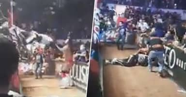 Wrestler Breaks Neck While Jumping Out Of Ring To Tackle Opponent