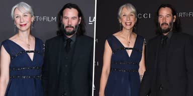 Keanu Reeves Walked The Red Carpet With His Girlfriend For First Time In 20 Years