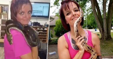 Woman Found Dead In House Containing 140 Snakes
