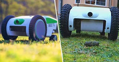 Pooper Scooper Robot Will Find, Detect And Automatically Pick Up Your Dog's Poo