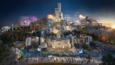 First Look At £3.5 Billion 'UK Disneyland' Released