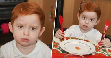 Boy With Rare Disorder Can Only Eat Five Baked Beans In One Sitting