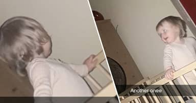 Mum 'Gobsmacked' To Find Her Baby Playing With 'Ghost Of Dead Neighbour'