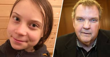 Greta Thunberg Has Perfect Response To Meat Loaf's Weird Comments About Her