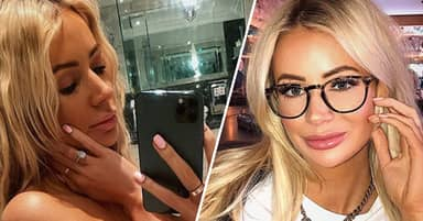 People Spooked By 'Pervy Ghost' In Olivia Attwood's Bathroom Selfie