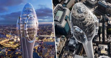 Skyscraper Widely Mocked For Looking Just Like A Sperm