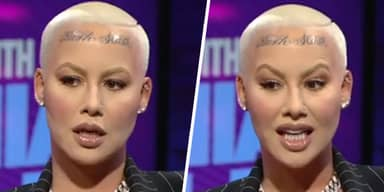 Amber Rose Says Kobe Bryant's Death Gave Her The Courage For Face Tattoo