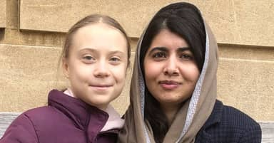 Malala And Greta Thunberg Finally Met And Became Fast Friends