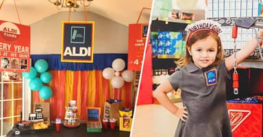 South Carolina Mum Throws 4-Year-Old Daughter Aldi Birthday Party And Absolutely Nailed It