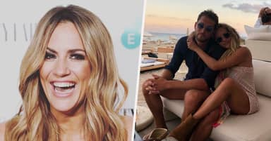 Caroline Flack's Boyfriend Lewis Burton Says His Heart Is Broken As Stars Pay Tribute