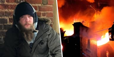 Homeless Man Catches Toddler Thrown From Burning House In Bedfordshire With Sleeping Bag