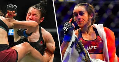 Joanna Jedrzejczyk And Weili Zhang Deserve $10 Million For Fighting Until Disfigured, UFC Middleweight Says