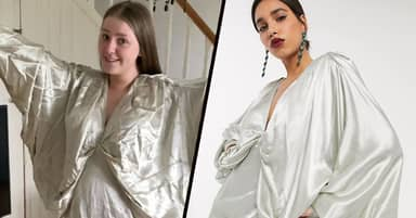 Cumbria Woman Left 'Looking Like One Of Jesus' Disciples' In £110 ASOS Dress