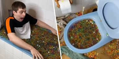 French YouTuber 'Blocks Entire Neighbourhood's Sewage System' After Filling Bathtub With Orbeez
