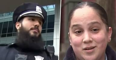 Boston Cop Pays For Single Mum's Groceries As A Thank You For Being Front Line Worker
