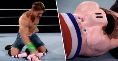 John Cena Wrestled A Puppet At Wrestlemania 36 And Still Lost
