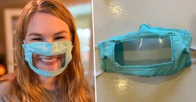 Student Makes Special Face Mask For People Who Are Deaf Or Hard Of Hearing