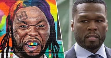 50 Cent Calls Out Artist Painting Murals Of Him As Tekashi 6ix9ine