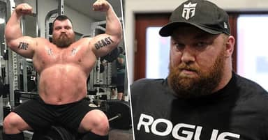 Former World's Strongest Man Eddie Hall Agrees To Fight The Mountain In A Boxing Match