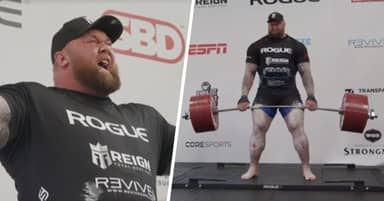 Game of Thrones Actor Hafthor Bjornsson Breaks World Deadlift Record
