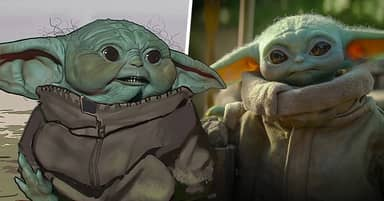 Baby Yoda Early Designs For The Mandalorian Released And They're Super Creepy